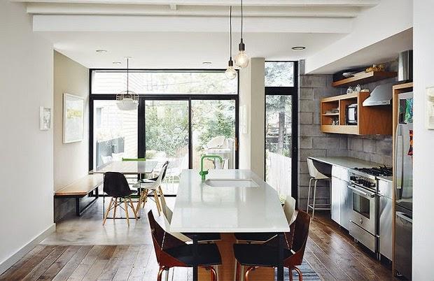 cocina moderna estilo industrial