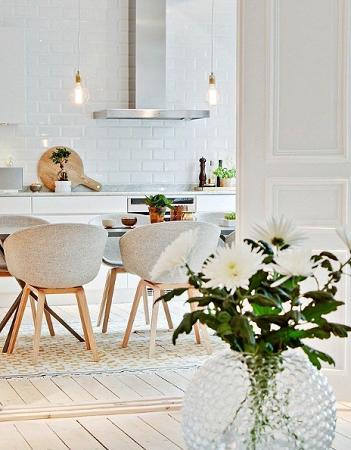 decoracion blanca moderna
