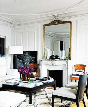 decorar salon clasico moderno