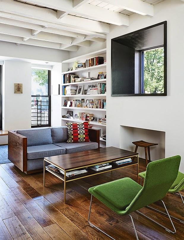 sillas vitra salon estilo nueva york