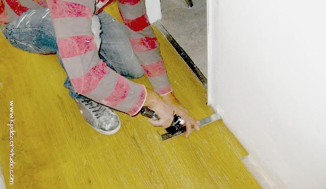 Como colocar suelo cmo colocar lamas vinlicas diy como - Colocar parquet laminado ...
