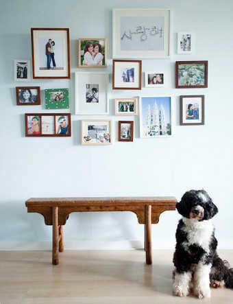 Decorar paredes con cuadros consejos - Como hacer un cuadro con fotos familiares ...