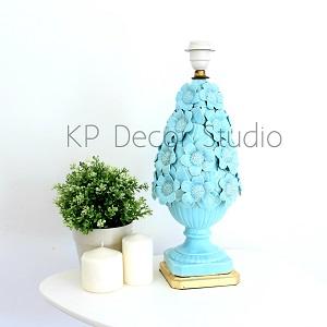 Lampara ceramica midcentury vintage