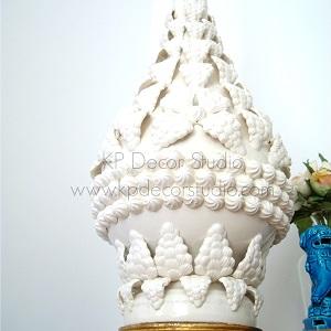 Lámparas de mesa ceramica manises gran tamaño