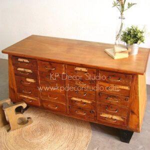 Mueble cajonero vintage