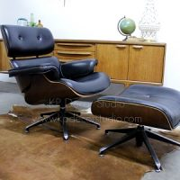 butaca sillon charles Eames luong chair and ottoman