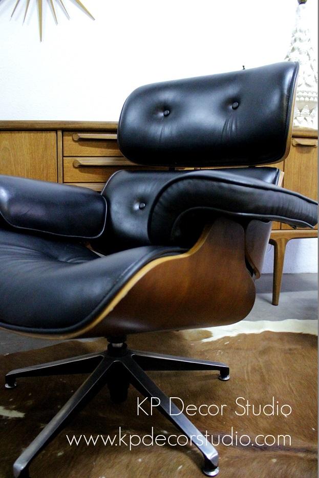 Tianda sillones Eames vintage butacas despacho