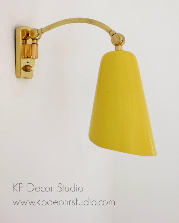 comprar lámpara aplique pared metalarte de latón