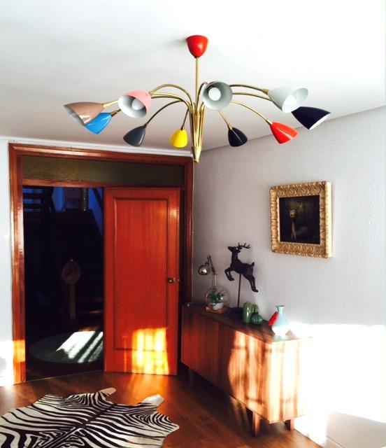 Lámpara stilnovo