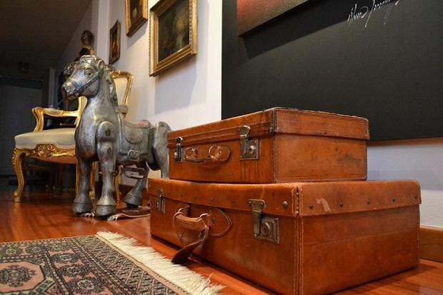 maletas vintage de cuero