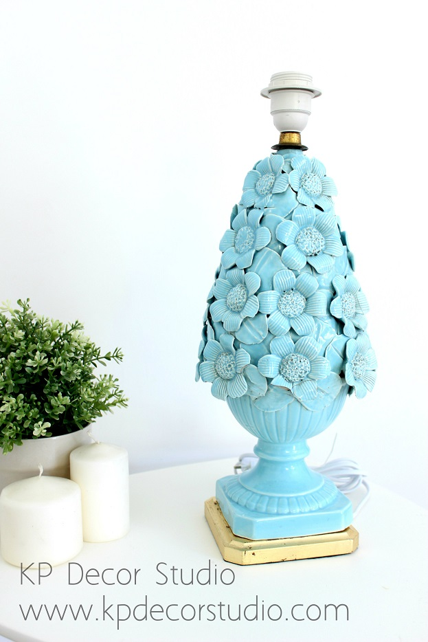 Lámpara ceramica de manises