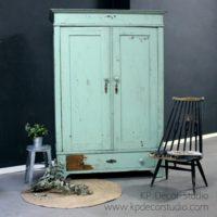 Armario vintage color mint