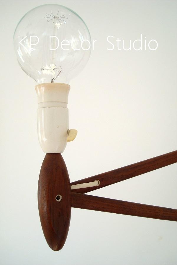 Detalle lampara danesa