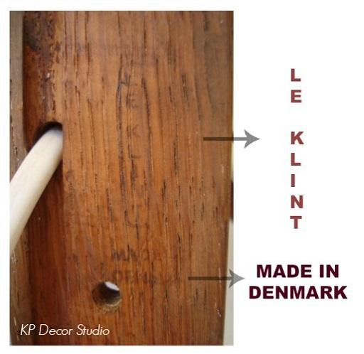 Aplique de pared danés marca Le Klint