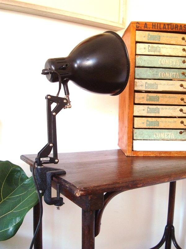 Flexo vintage industrial para escritorio