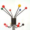 Percheros vintage tipo eames bolas colores