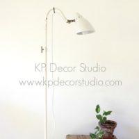 Lámpara de pie industrial bonita para decorar salón
