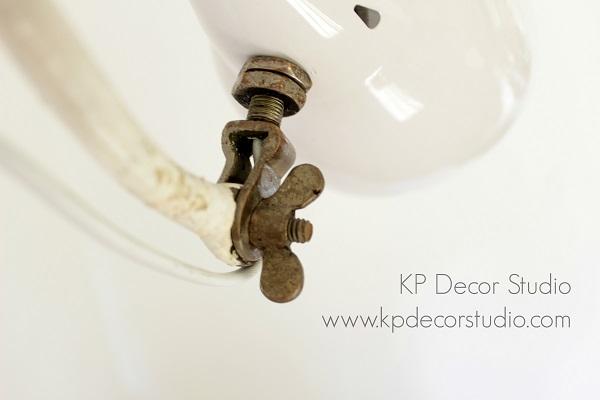Lámpara estilo industrial