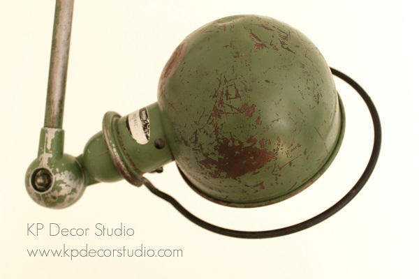 comprar auténtica y antigua lampara jielde francia años 60-70