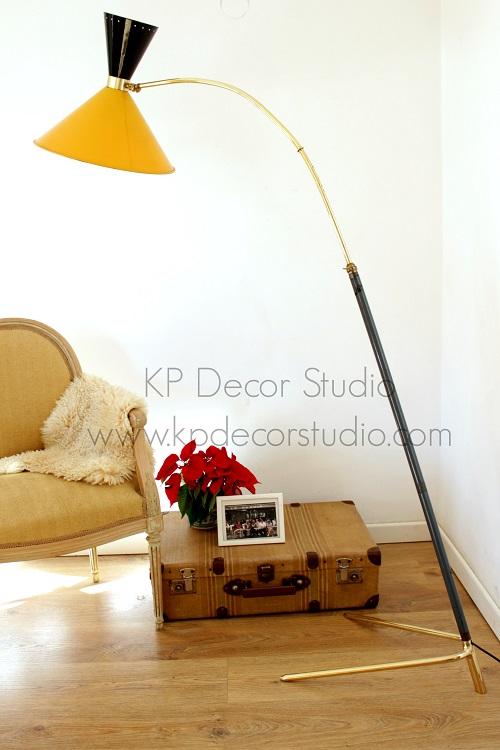 Floor lamp by guariche vintage