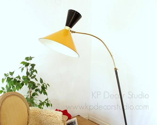 Comprar lampara unica, midcentury, vintage, elegante, latón
