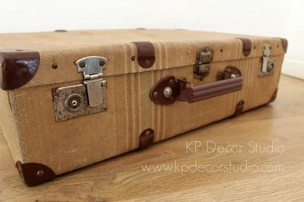 maletas de tela antiguas