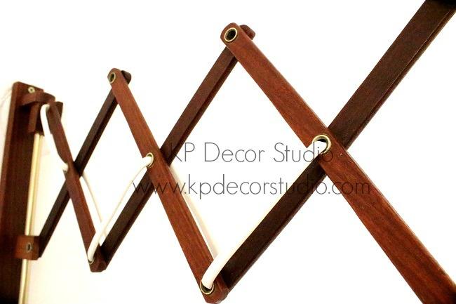 Aplique extensible de madera
