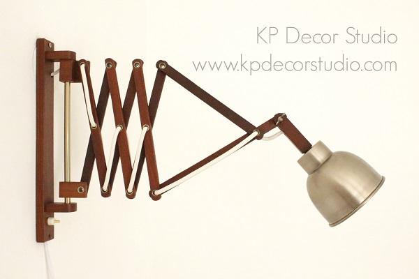 Lámparas danesas, flexos y apliques de madera