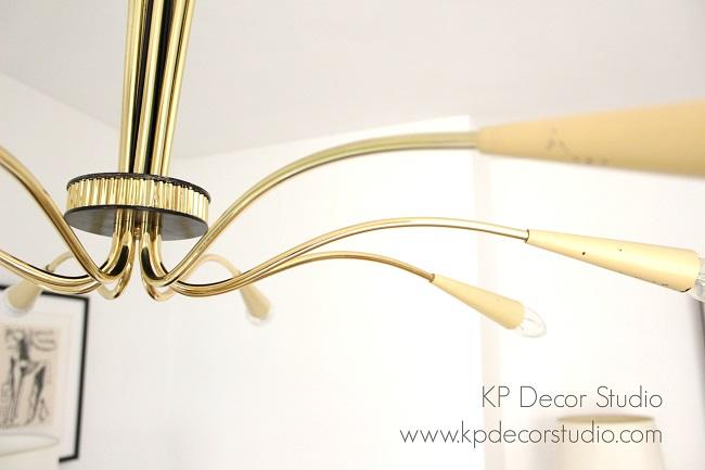 Lámpara años 50 midcentury diabolo pendant lamp by stilnovo