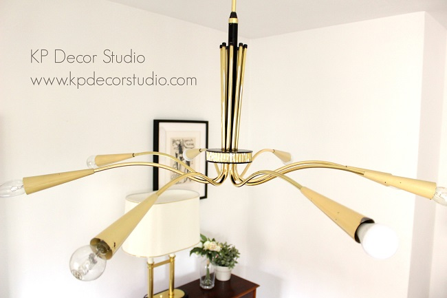 Chandelier stilnovo lamp