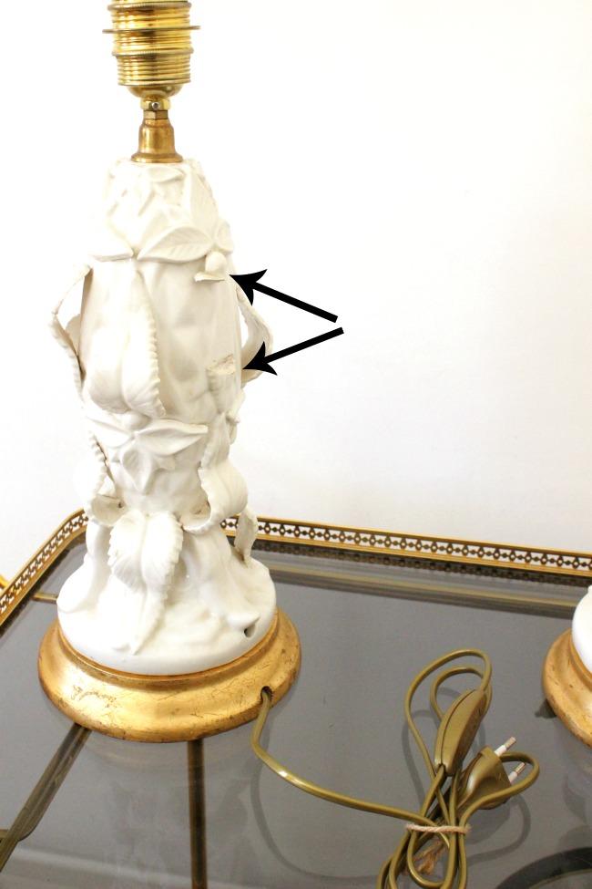 lámparas de cerámica de manises