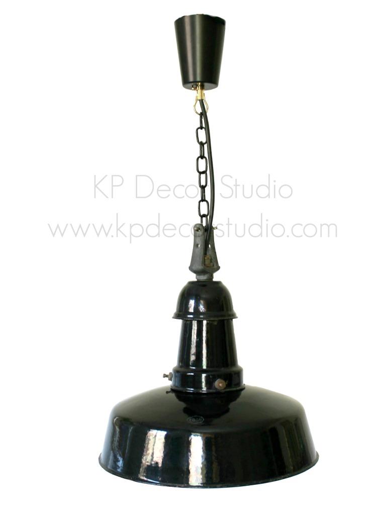 Lámpara vintage para salón o cocina estilo industrial