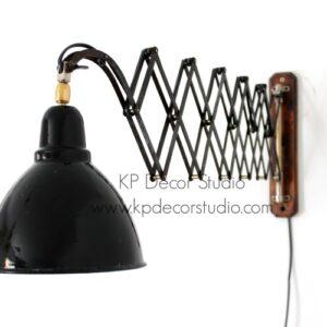 Lámpara vintage industrial