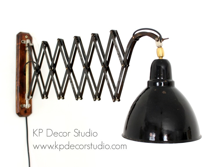 Lámparas vintage industrial