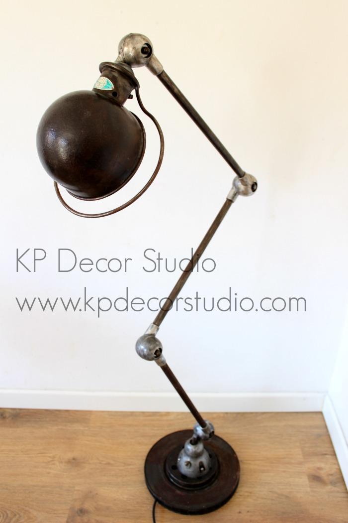 Lámparas de pie industrial para decoración de hogar
