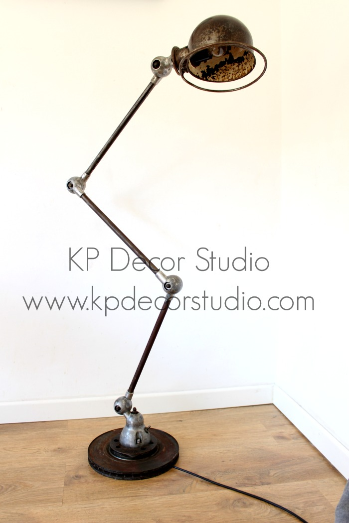 lámparas antiguas estilo industrial