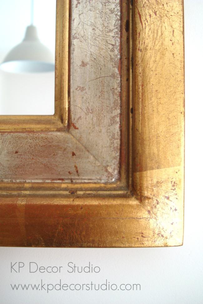 Marcos artesanos dorados a mano