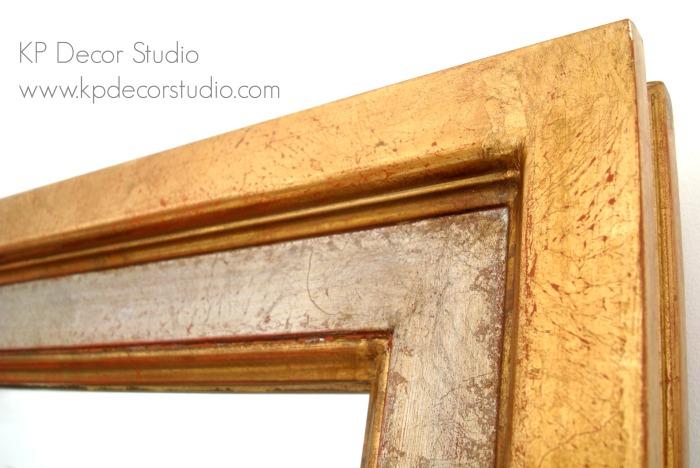 Espejo antiguo madera