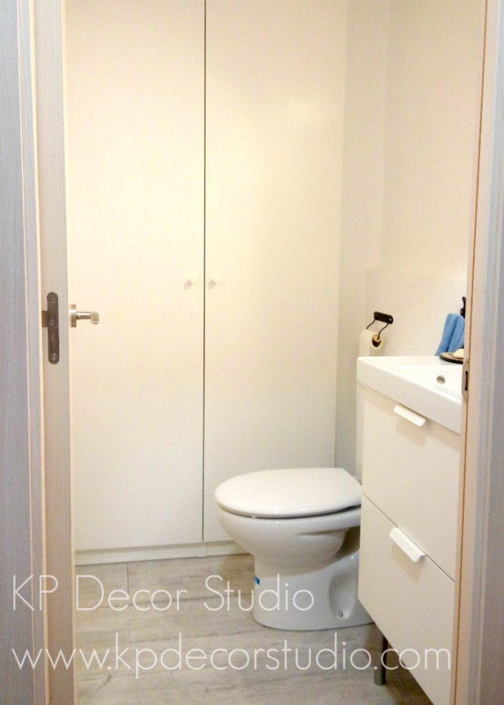 Reformas cuartos de baño pequeños enlucidos - KP Decor ...
