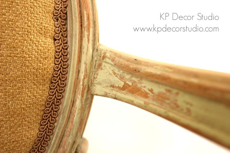 silla madera abtigua para decoración