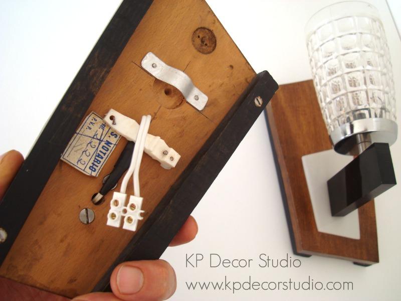 Apliques y lamparas vintage restauradas