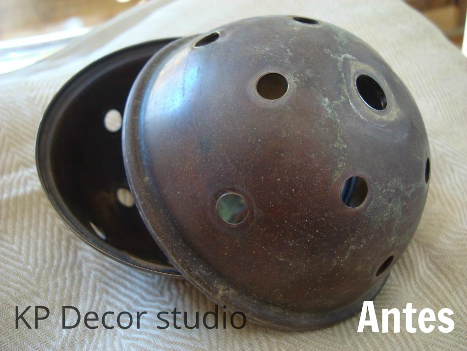 Brass sputnik by stilnovo