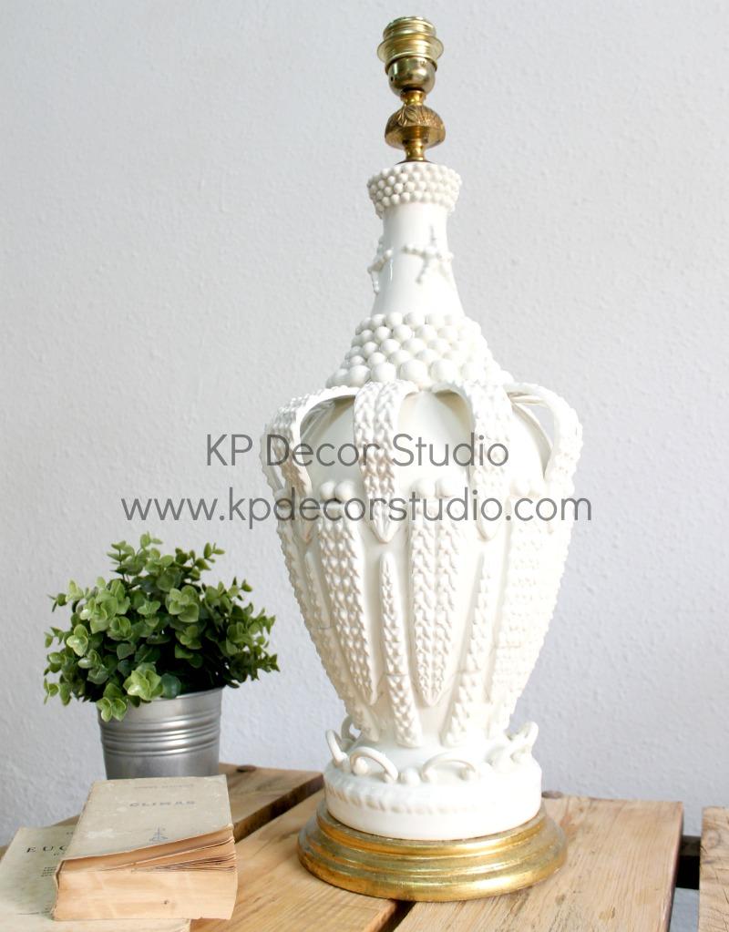 Lámpara_cerámica_manises_vintage