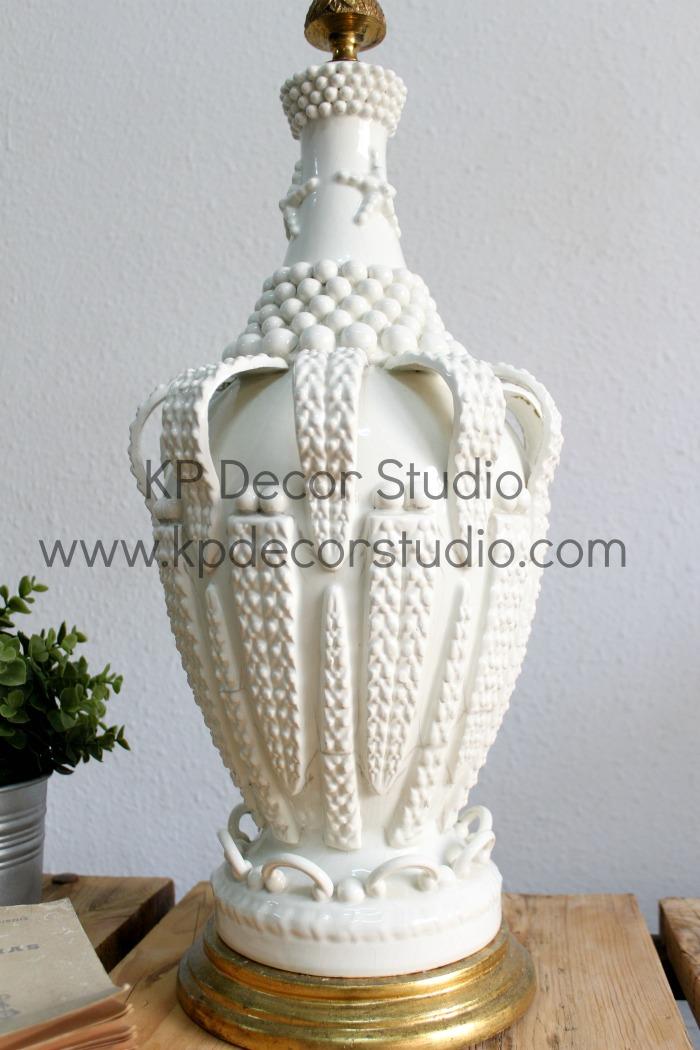 KP Decor Studio lamparas decoración años 50 ceramica manises