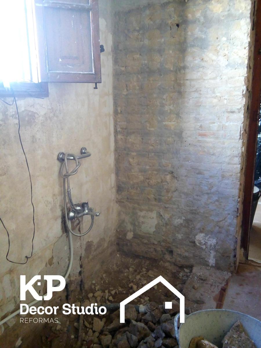 Reforma cuarto de baño en valencia.