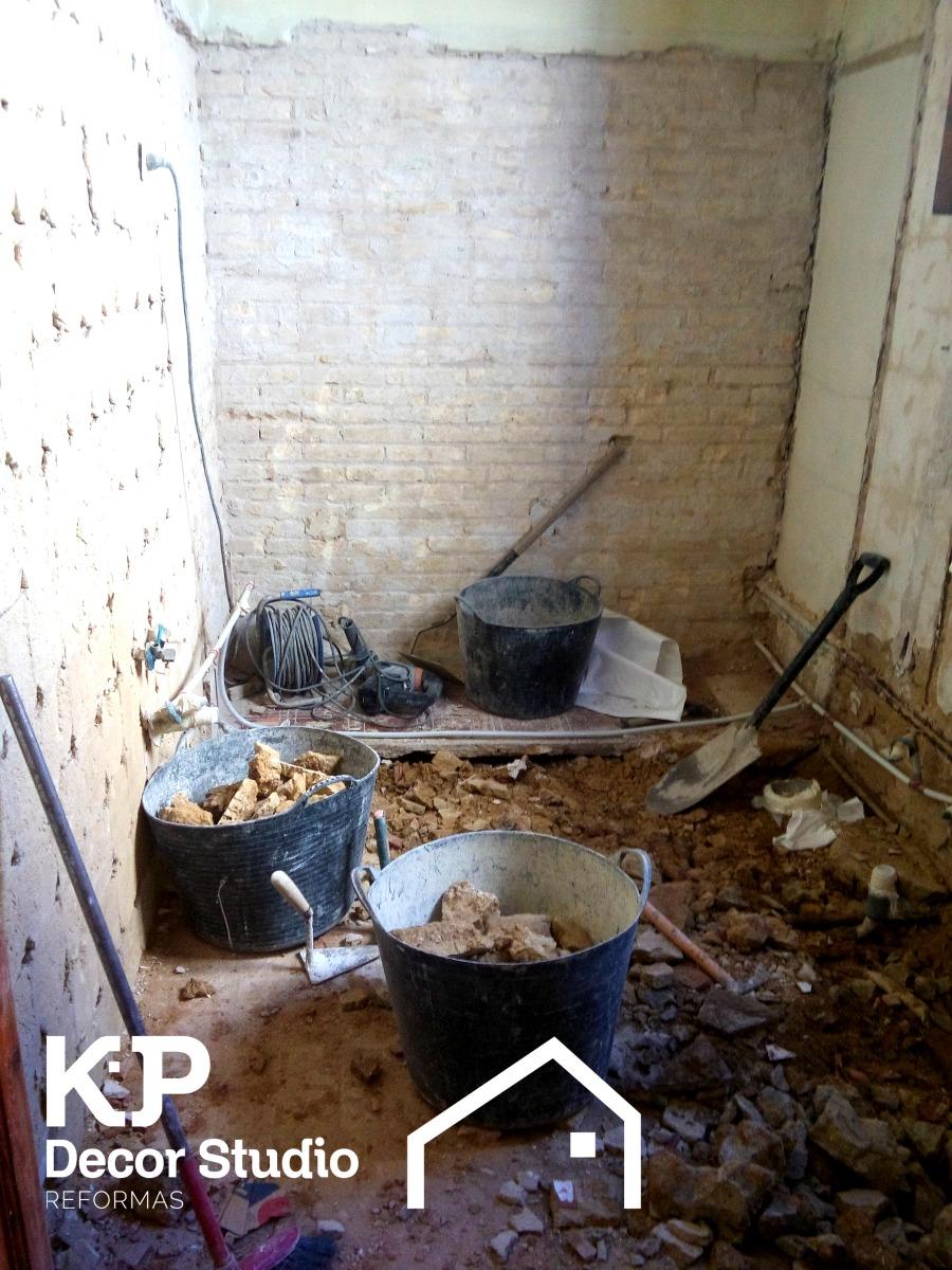 Procesos de reforma de cuartos de baño.